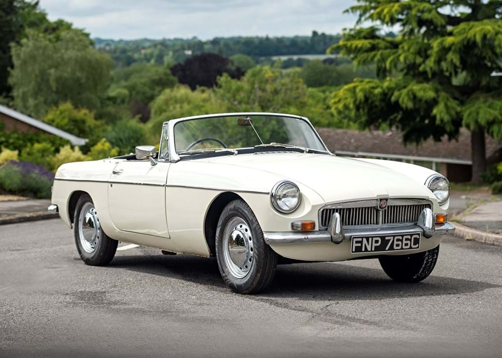 Lot 127 - 1965 MG B Roadster