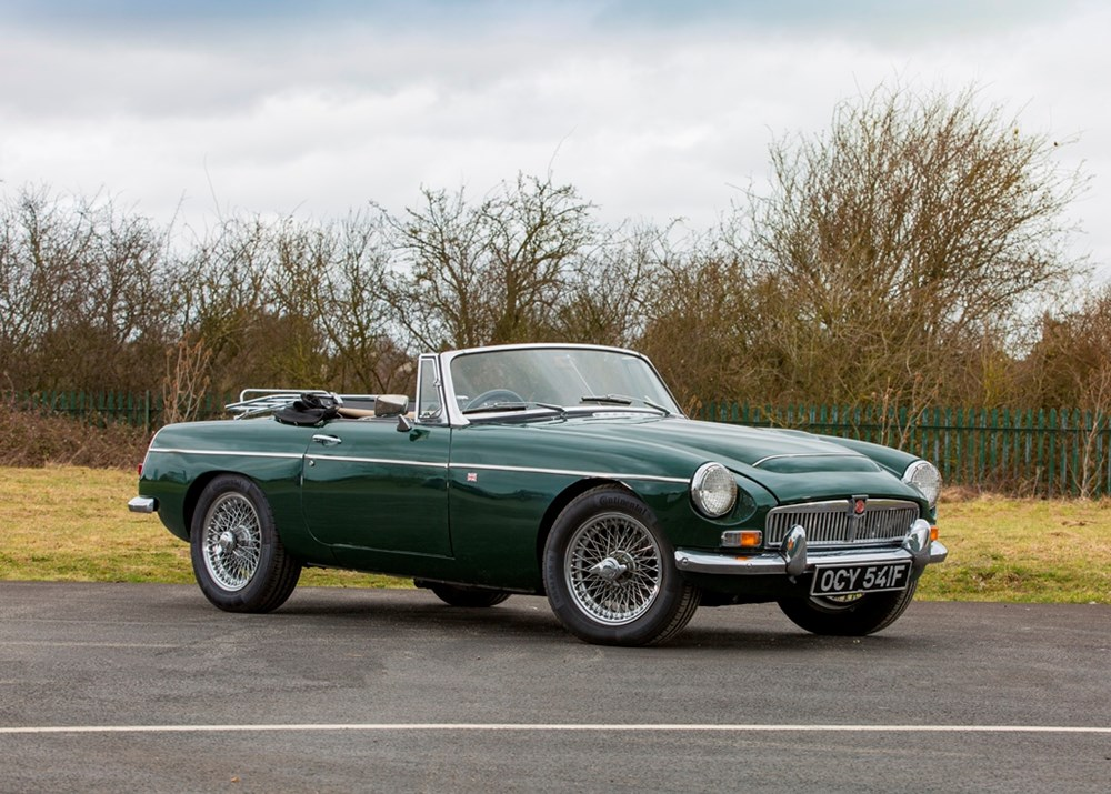 Lot 164 - 1968 MG C Roadster