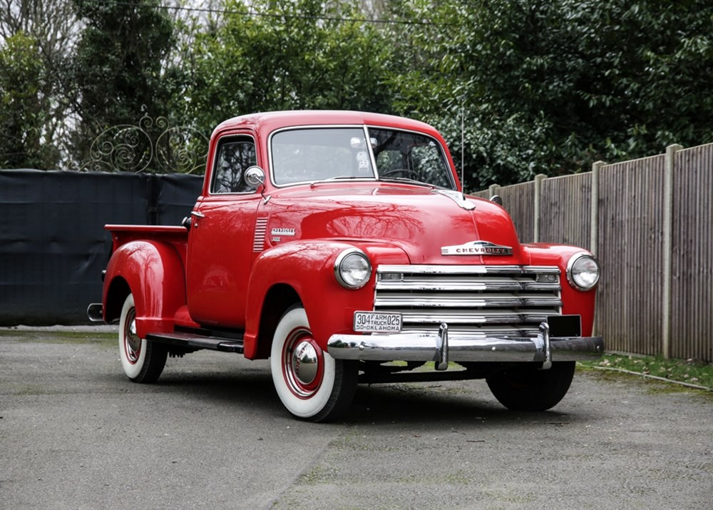 Lot 203 - 1950 Chevrolet 3100 Pick-up