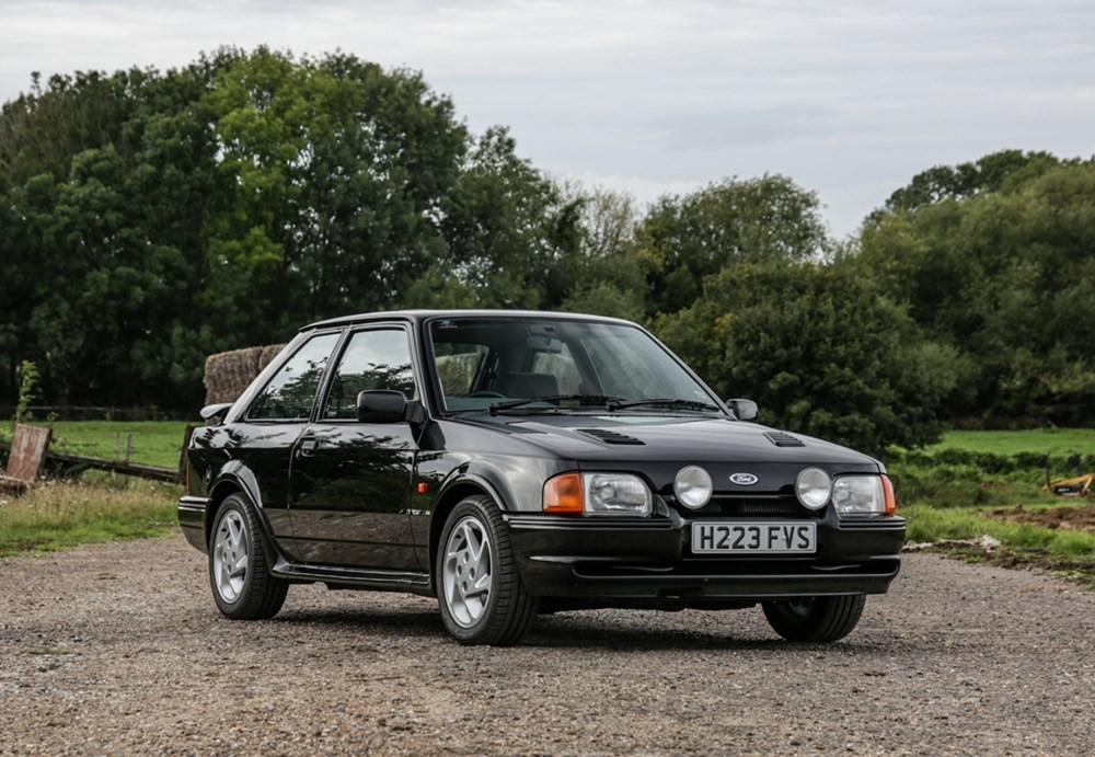 Lot 141 - 1991 Ford Escort Mk. IV RS Turbo
