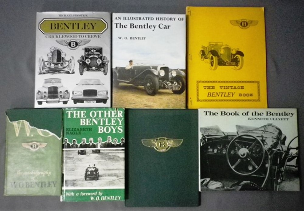 Lot 49 - Bentley motoring books.