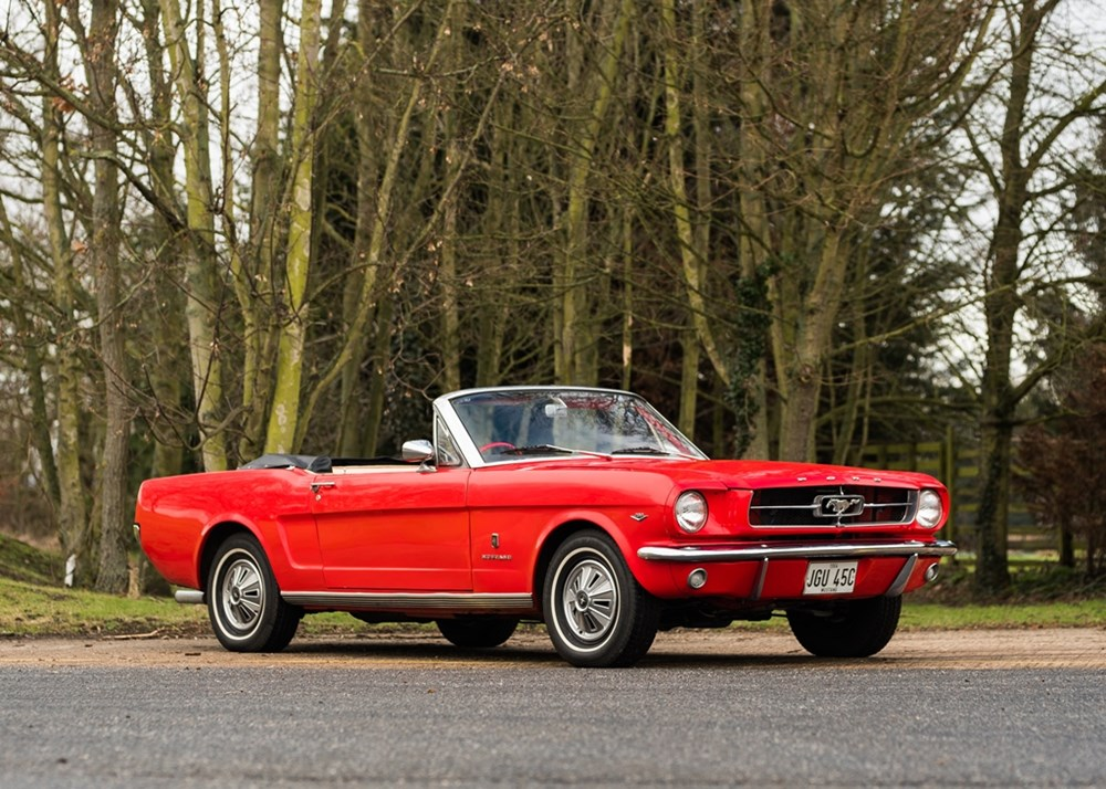 Lot 299 - 1964 Ford Mustang 289 GT Convertible *Reduced estimate*