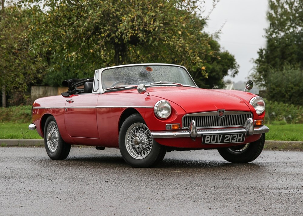 Lot 247 - 1970 MG B Roadster