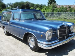 Navigate to Lot 208 - 1965 Mercedes-Benz Hearse
