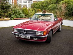 Navigate to Lot 179 - 1989 Mercedes-Benz 500 SL