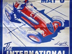 Navigate to Brooklands race posters.