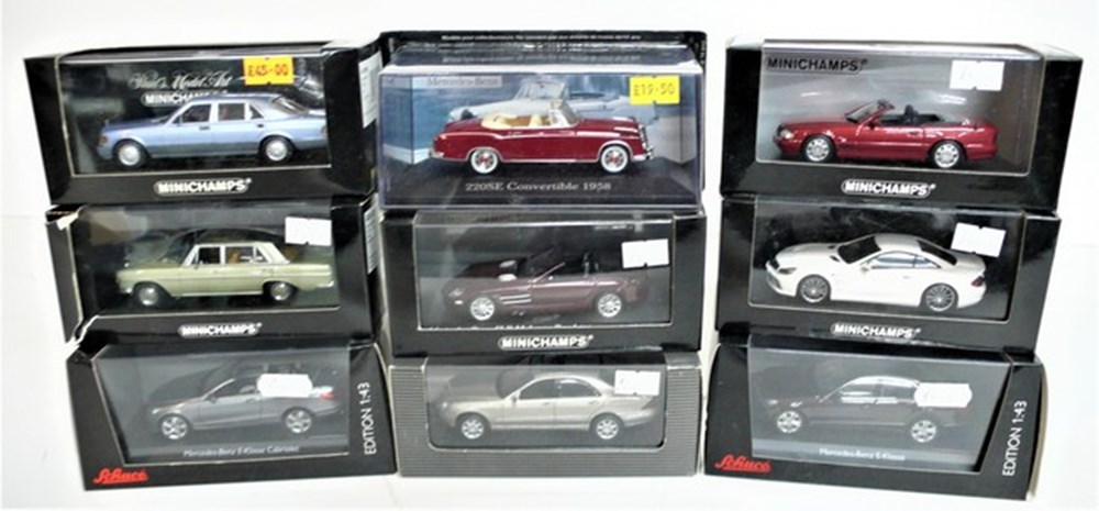 Lot 078 - Mercedes-Benz models.