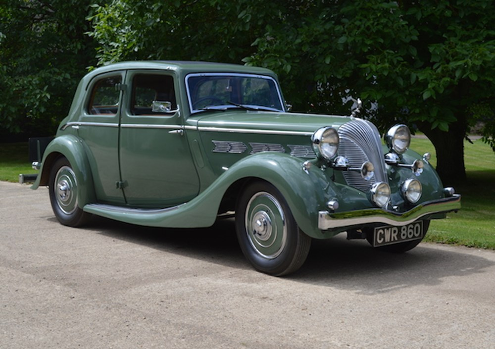 Lot 299 - 1937 Triumph Dolomite Short Chassis Saloon