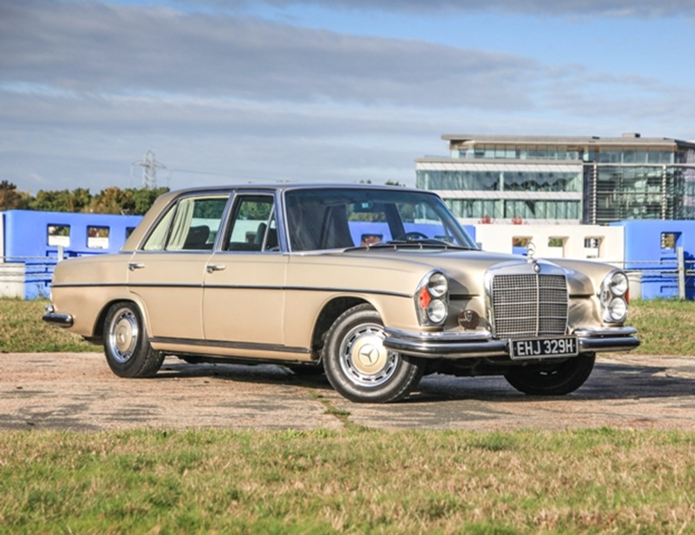 Lot 217 - 1970 Mercedes-Benz 300 SEL Saloon (6.3 litre)