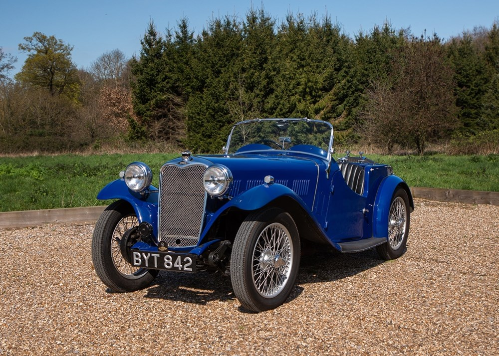 Lot 176 - 1935 Singer Nine Le Mans 'Speed'