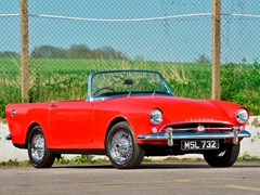 Navigate to Lot 253 - 1961 Sunbeam Alpine Series II