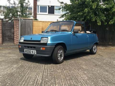 Ref 160 1983 Renault 5 TX Cleveland Convertible