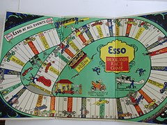 Navigate to Esso Brooklands race board game