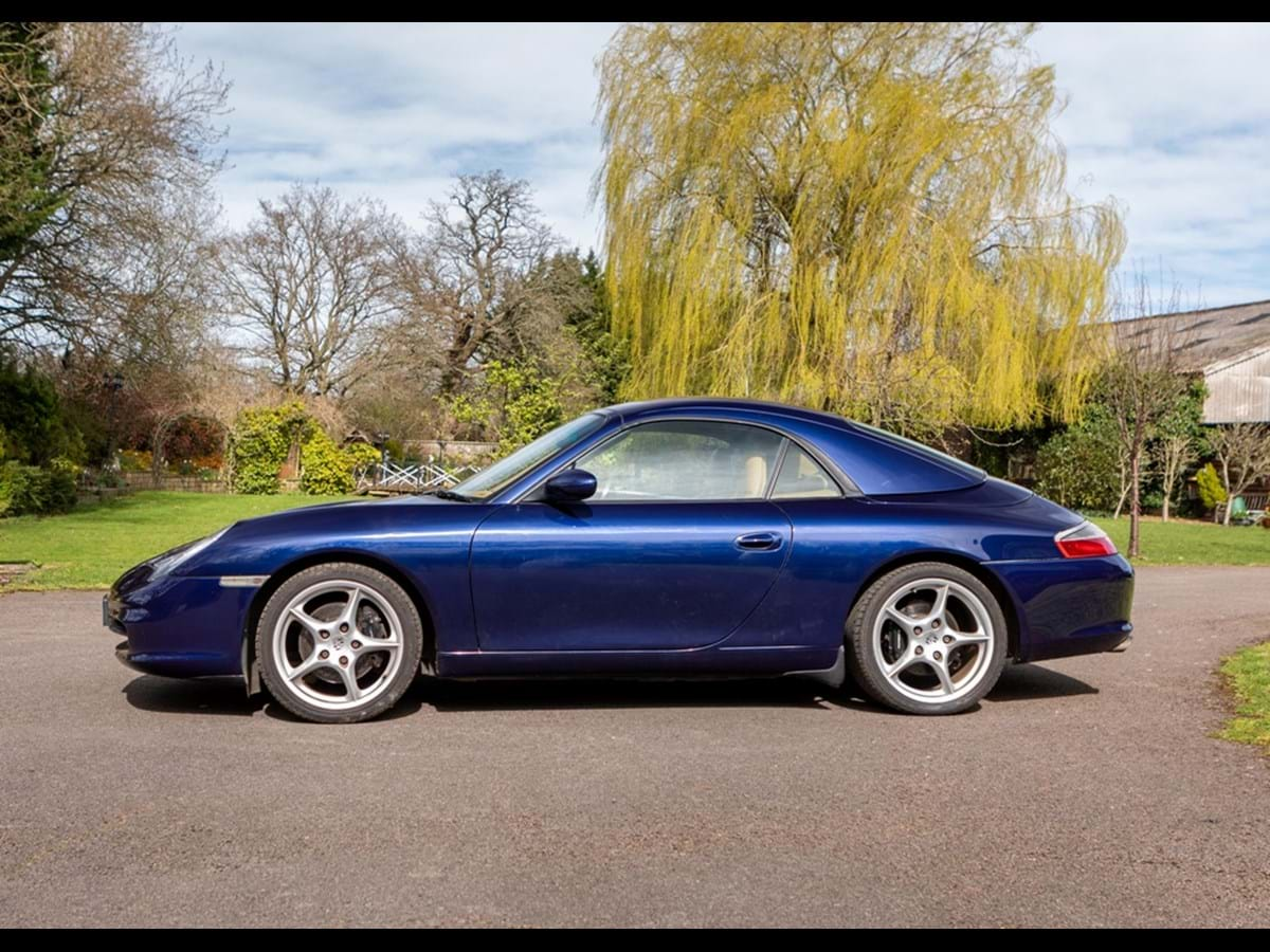 2003 Porsche Carrera 996 Convertible