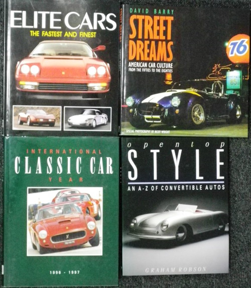 Lot 4 - Eight motoring books.