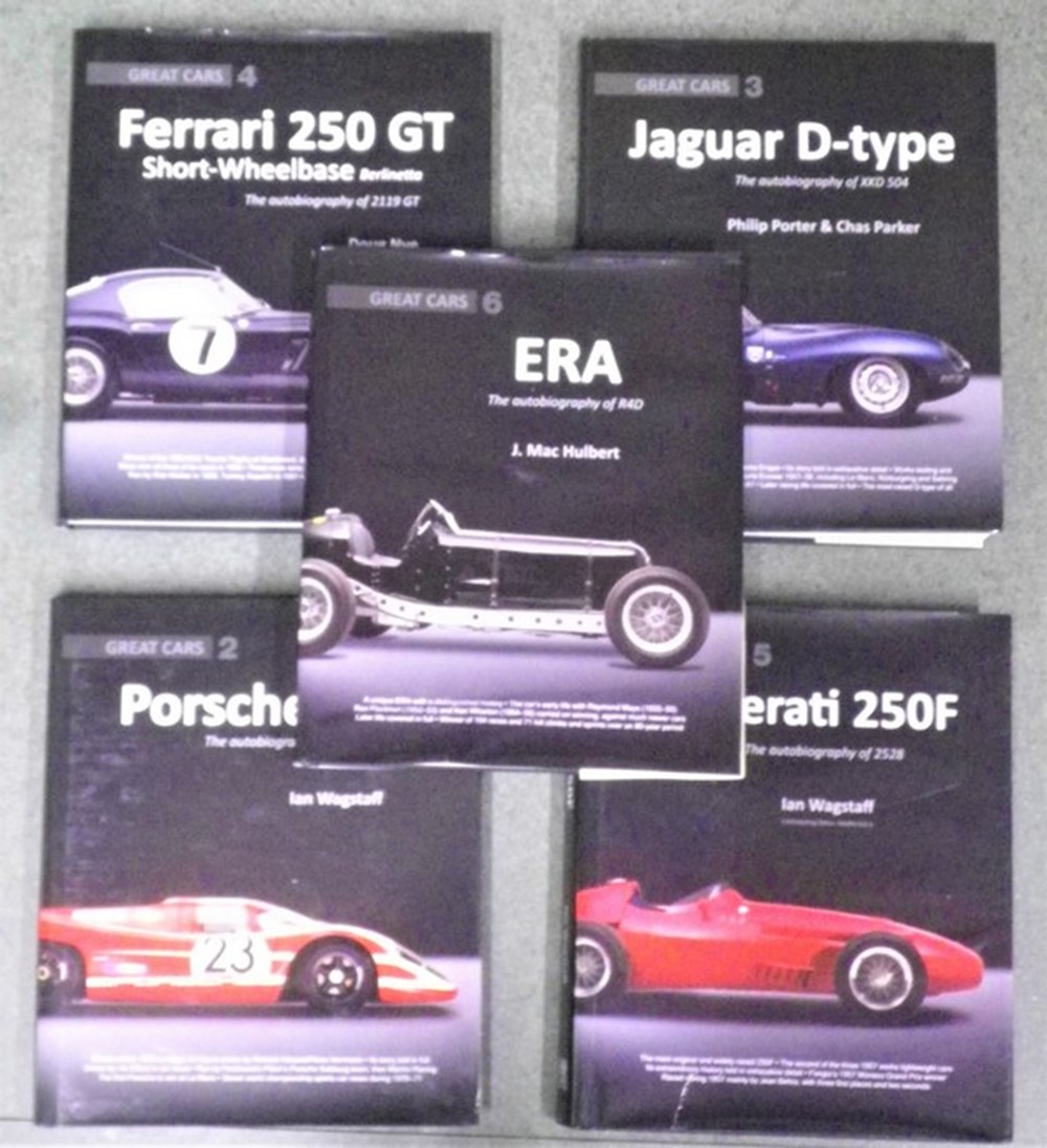 Lot 123 - Motoring books.