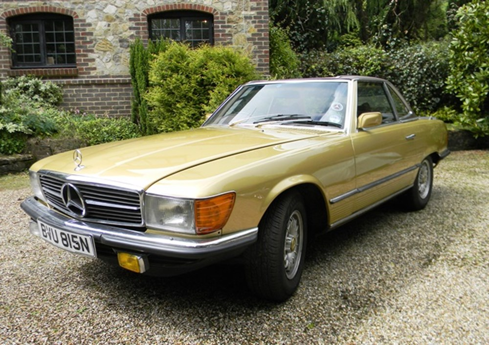 Lot 111 - 1974 Mercedes-Benz 450SL