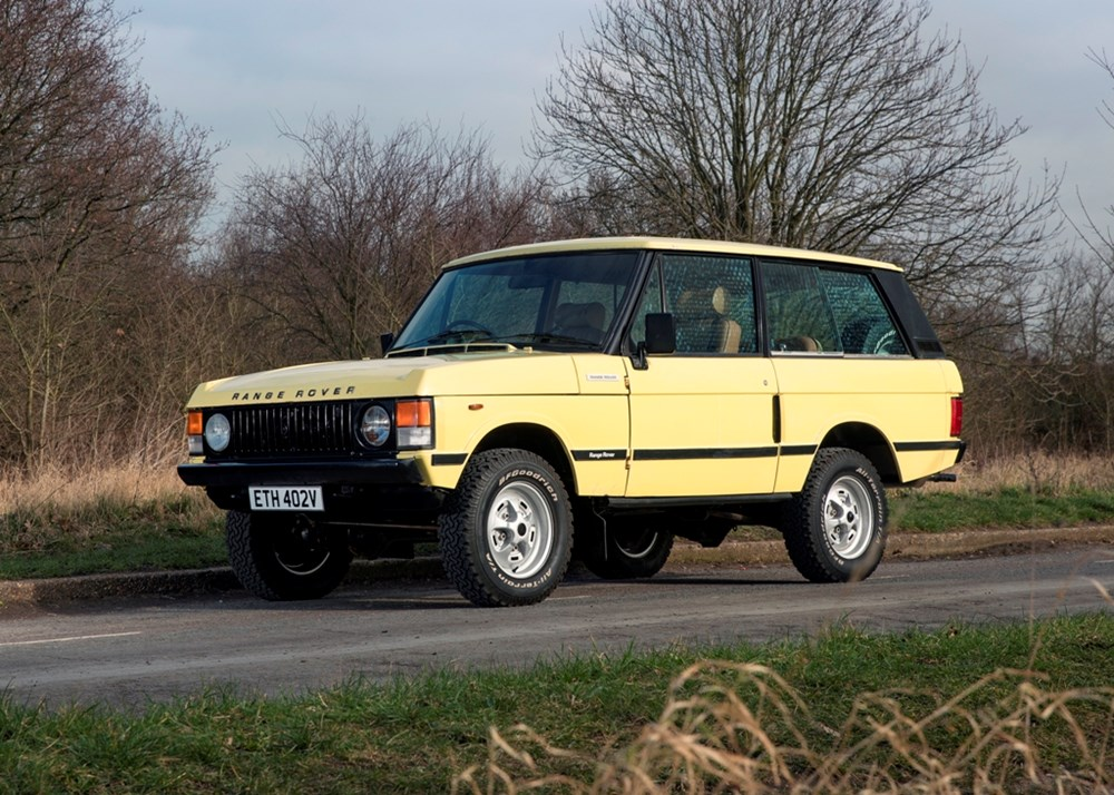 Lot 309 - 1979 Range Rover Suffix F 'Two-door'