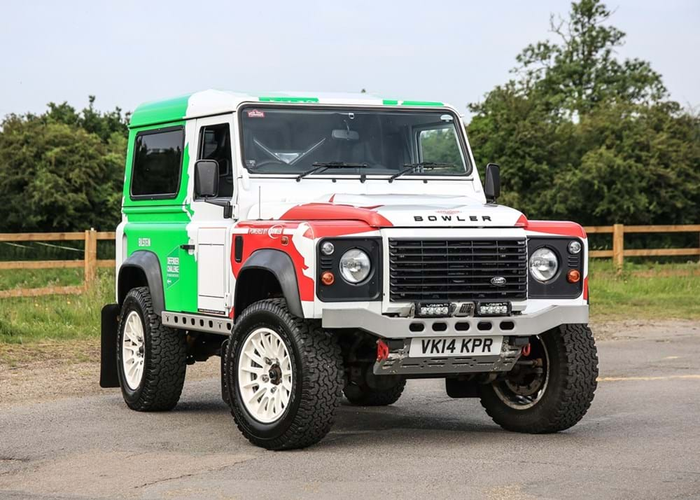 Lot 251 - 2014 Land Rover Defender 90 Hardtop by Bowler