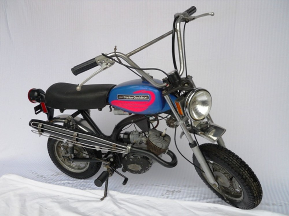 "Lot 265 - 1972 Harley-Davidson MC-65 ""Shortster"""