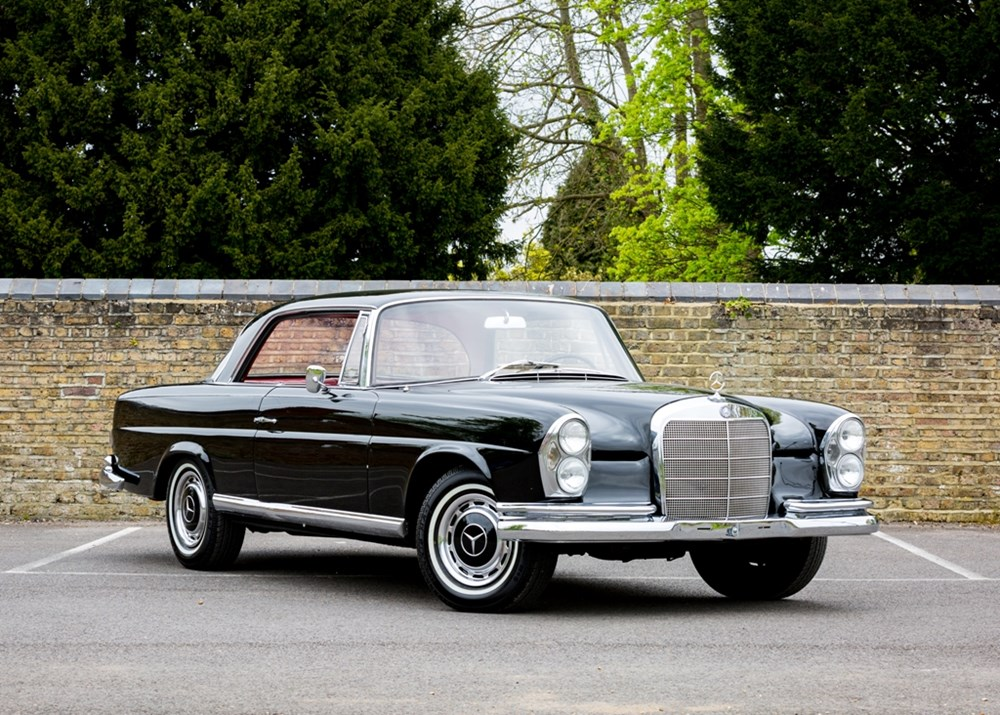 Lot 170 - 1965 Mercedes-Benz 220 SE Coupé