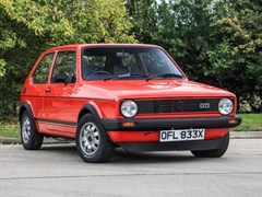 Navigate to Lot 123 - 1981 Volkswagen Golf GTi Mk.I