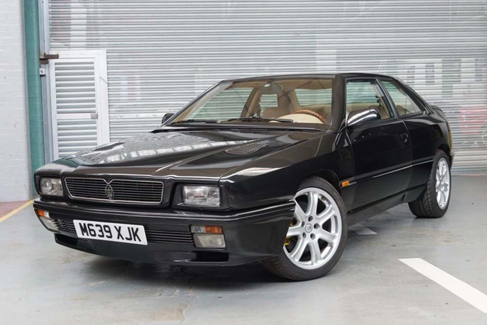 ref 156 1994 maserati ghibli - classic & sports car auctioneers