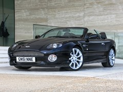 Navigate to Lot 223 - 2001 Aston Martin DB7 Vantage Volante