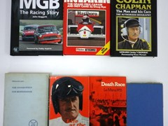 Navigate to 16 motoring related books