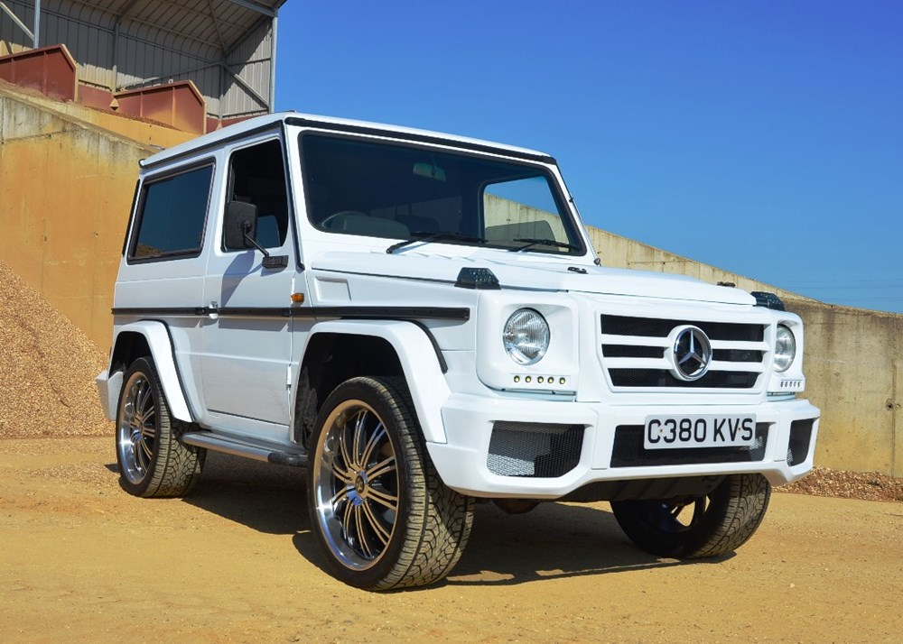 Ref 108 1986 mercedes benz g wagon for Mercedes benz financial phone number