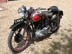 Navigate to Lot 356 - 1937 Ariel 500cc Red Hunter