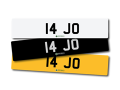 Navigate to Lot 200 -   Number Plate 14 JO