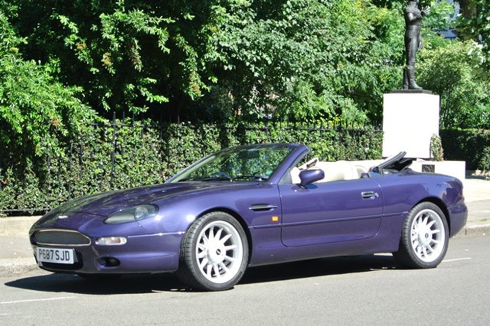 Lot 269 - 1997 Aston Martin DB7 Volante