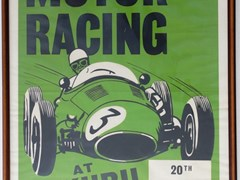 Navigate to Motor racing poster