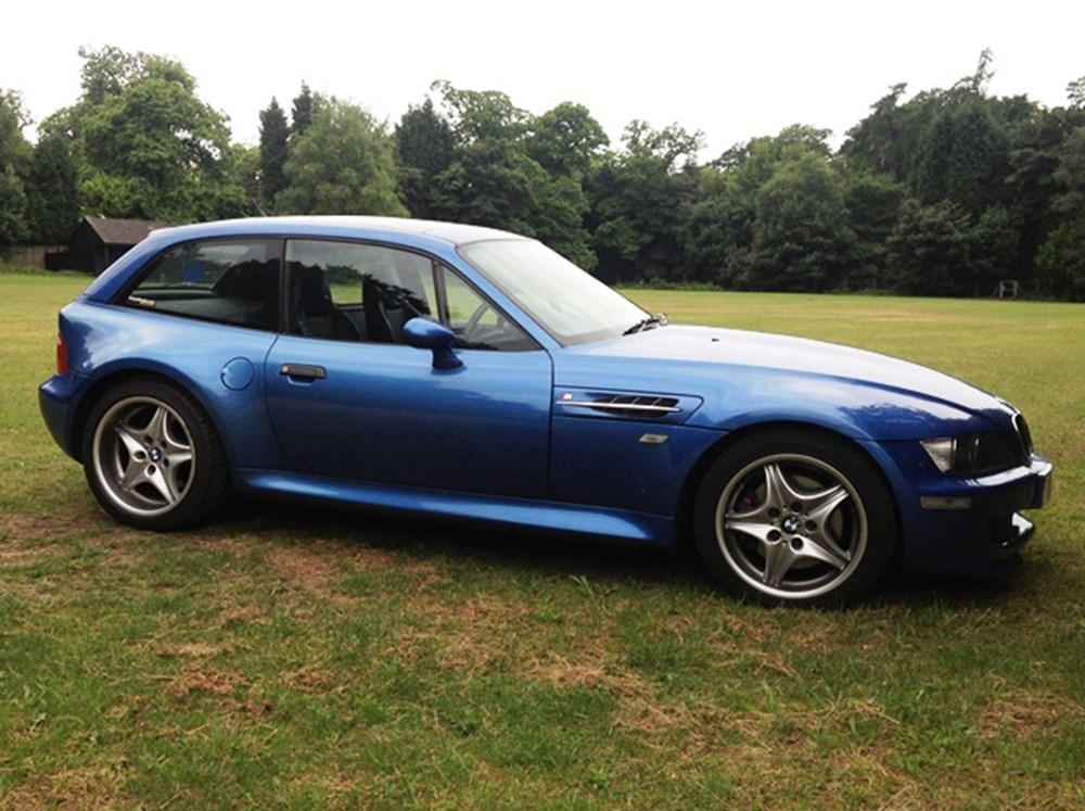 1999 Bmw Z3m Coup 233 Classic Amp Sports Car Auctioneers
