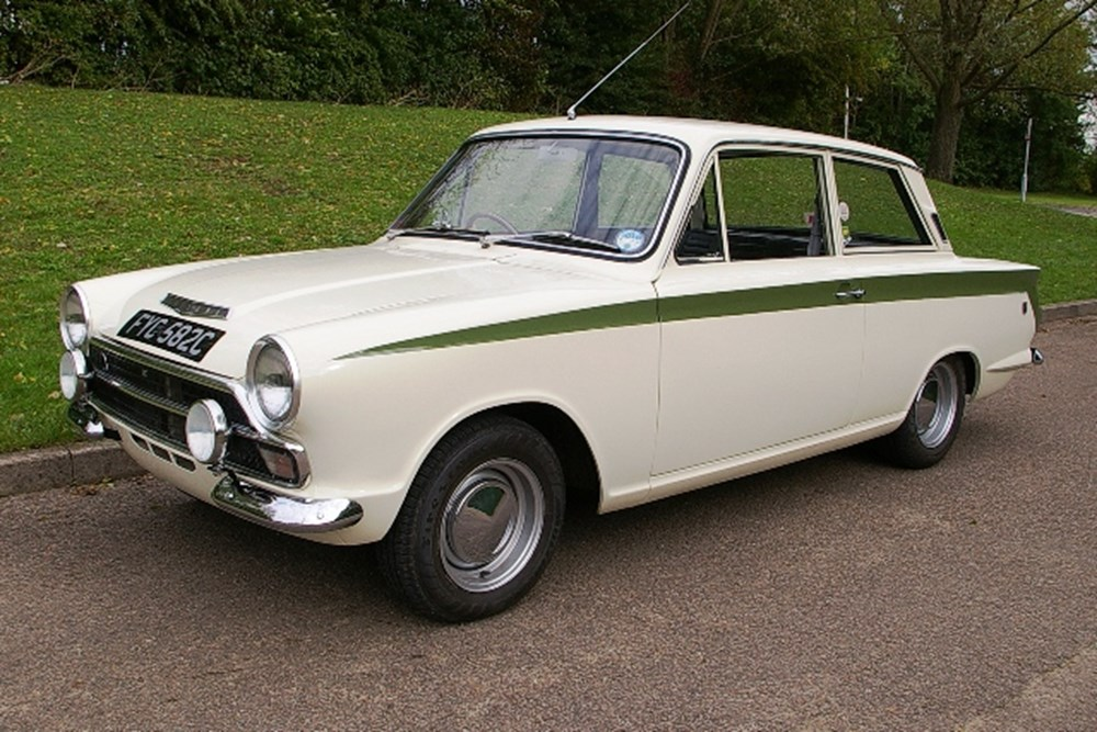 Lot 223 - 1965 Ford Cortina Mk. I GT Two-door