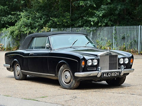 Ref 16 1968 Rolls Royce Silver Shadow Convertible by Mulliner Park Ward