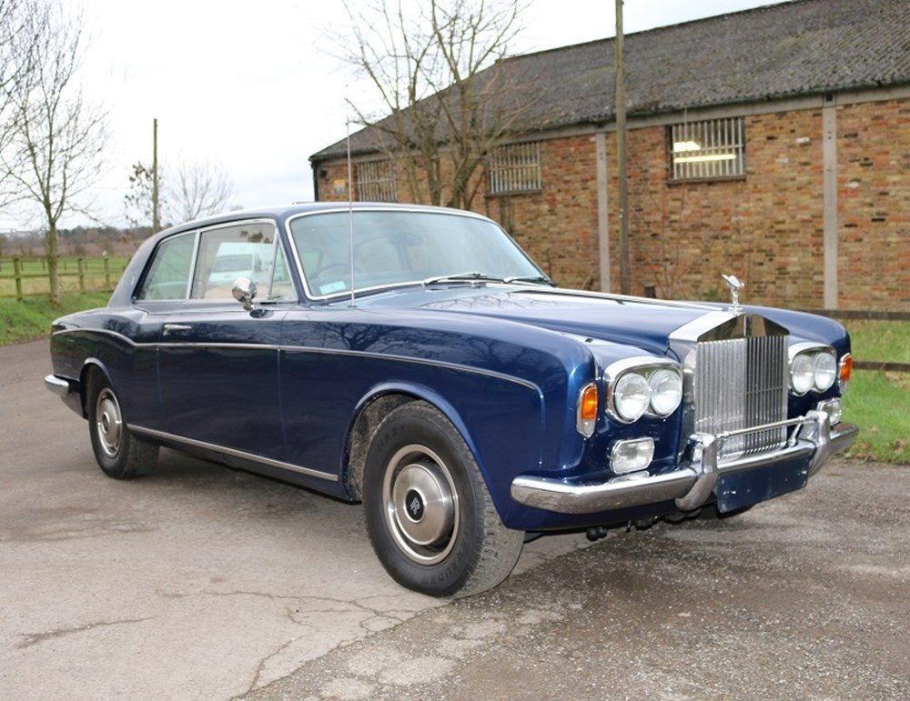 Lot 218 - 1974 Rolls-Royce Corniche Fixedhead Coupé