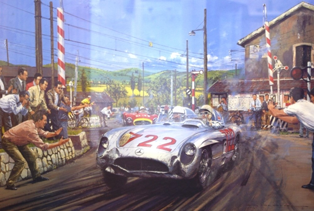 Lot 005 - 1955 Mille Miglia limited edition print