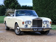 Navigate to Lot 175 - 1976 Rolls-Royce Corniche Convertible By Mulliner Park Ward