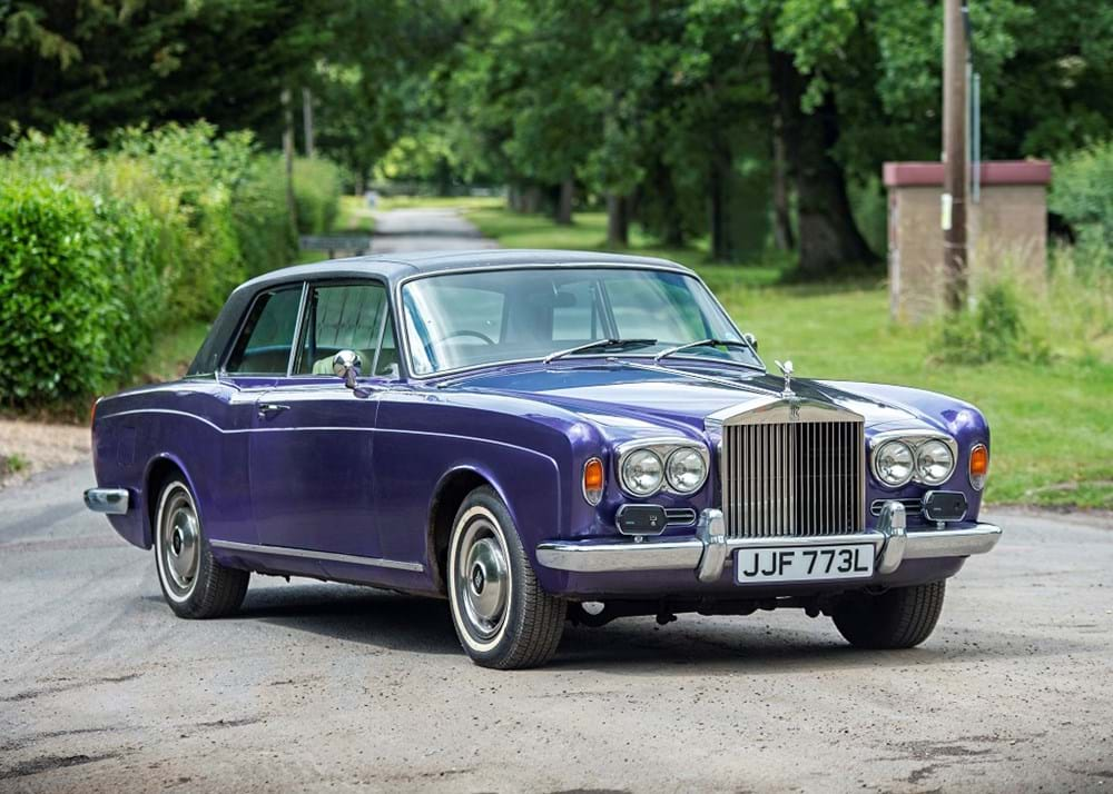 Lot 135 - 1972 Rolls-Royce Corniche Fixedhead Coupé