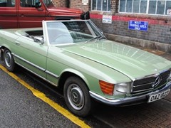 Navigate to Lot 444 - 1973 Mercedes-Benz 350SL Roadster