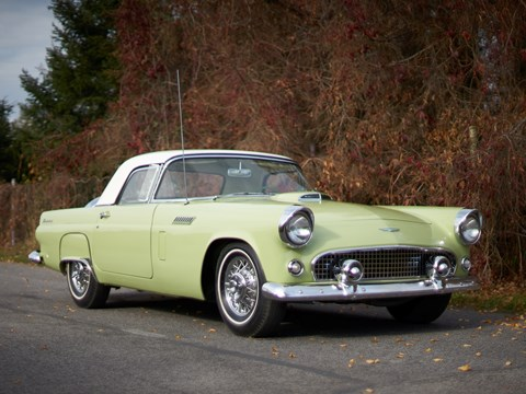 Ref 55 1956 Ford Thunderbird Convertible