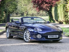 Navigate to Lot 244 - 2001 Aston Martin DB7 Vantage Volante