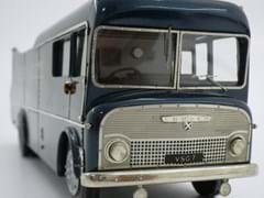 Navigate to Ecurie Ecosse race car transporter
