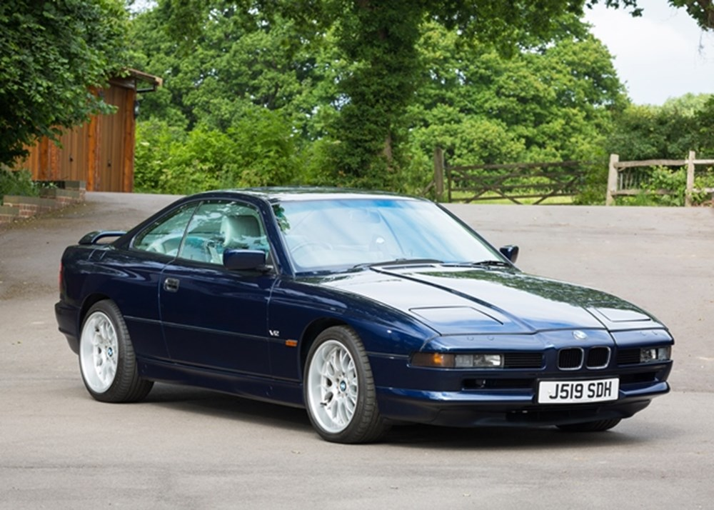 ref 46 bmw 850i specialist classic sports car auctioneers. Black Bedroom Furniture Sets. Home Design Ideas