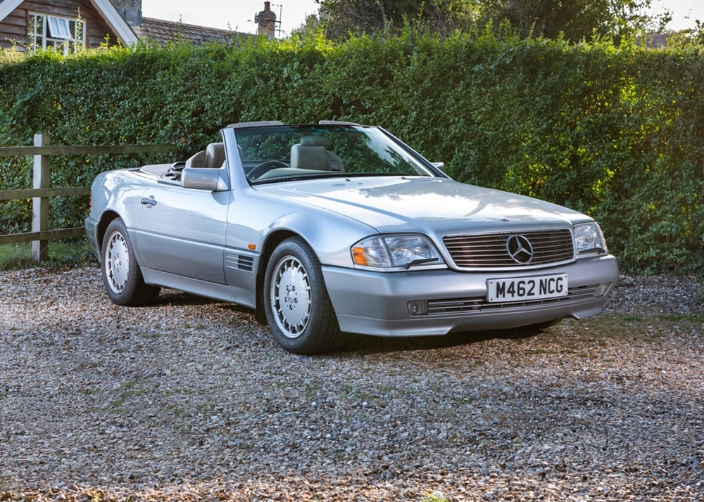 Lot 213 - 1995 Mercedes-Benz SL 500