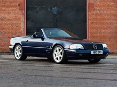 Navigate to Lot 248 - 2000 Mercedes-Benz 320 SL Roadster Designo Edition