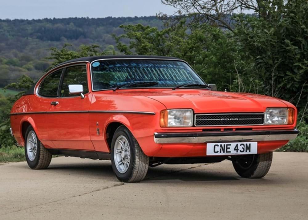 Ref 149 1974 Ford Capri Mk Ii 3000 Ghia