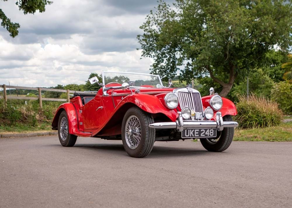Lot 113 - 1954 MG TF